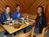 Repas après le match au Tessin